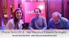 Premio Tenco 2018, intervista a Neri Marcore e De Angelis
