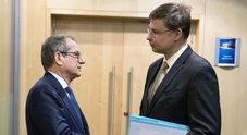 Dombrovskis a Tria: «Manovra, servono passi concreti»