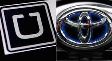 Uber, Toyota investe 500 mln per sviluppo auto autonome. App vale 72 miliardi dollari
