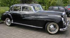 """Mercedes, all'asta un gioiello """"Adenauer"""": perfetto senza essere restaurato"""