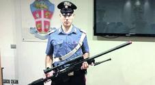 Il fucile softair usato dal ragazzo