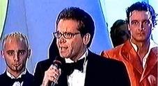 """Cecchi Paone al Gf Vip, la """"conversione"""" del giornalista che nel 2001 si scagliò contro il reality ai Telegatti Video"""