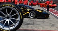 Pirelli sale quota 10.000 con Ferrari. Ai Racing Days del Nurburgring la celebrazione