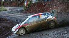 Rally Cile, Tanak (Toyota Yaris) sempre primo. Pauroso incidente per il leader Neuville (Hyundai)