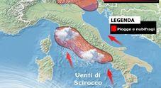 Ancora piogge sull'Italia Ma ecco quando arriverà «l'estate di San Martino»
