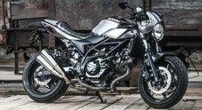 Suzuki SV650X-TER, la naked diventa vintage. Una serie speciale per chi ama distinguersi