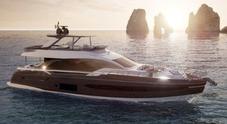 Azimut Yachts taglia il traguardo dei 50 anni con tre novità e feste itineranti. A dicembre gran finale ad Avigliana