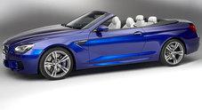 BMW M6 Cabrio, signora da 560 cavalli coppia più 30%, consumi meno 30%