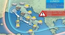 Meteo, estate pazza «Vortice ciclonico in arrivo tornerà a sorpresa la neve»