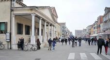 Il centralissimo Corso del Popolo i Chioggia