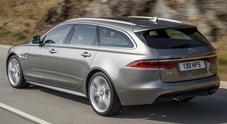XF anche Sportbrake, il dinamismo Jaguar in abito lungo: tanto spazio e agilità insospettabile