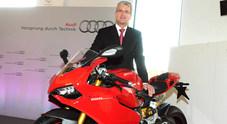 Stadler (ceo Audi): «Ducati non si vende. La sua profittabilità, con Lamborghini, sostiene l'elettrificazione»