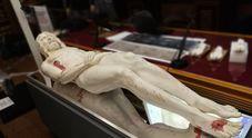 La scultura in gesso della Sindone ricostruita in tre dimensioni