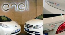 Enel punta sulla mobilità green, auto elettriche dedicate Mercedes e Nissan ai dipendenti