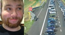 Riccardo Zancani, vittima di un incidente stradale in A4
