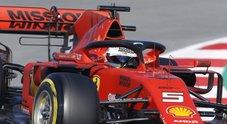 F1, la Ferrari si rompe e Vettel va dritto. Tedesco illeso: «Resto positivo sull'auto»