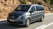 Nuova Classe V, il monovolume Mercedes è sempre più premium