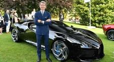 Voiture Noire miglior concept a Villa d'Este. Winkelmann: «Ora Bugatti punta su Pebble Beach»