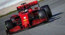 Test a Barcellona, 2° giorno - Vettel il più veloce, ma la Ferrari ancora non convince