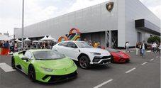Lamborghini, in 3.000 al Family&Friends Day. Porte aperte alla Casa del Toro