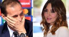 Juve Atletico Madrid, Ambra Angiolini e il dolce messaggio per il suo Massimiliano Allegri