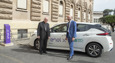 Mobilità elettrica, Enel X installa 12 colonnine di ricarica in Vaticano
