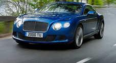 Continental GT Speed, il razzo Bentley l'auto del marchio più veloce della storia