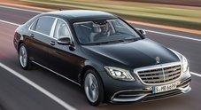 Mercedes-Maybach Classe S, l'ammiraglia della Stella ancora più lunga, comoda e lussuosa