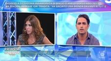 Emanuela Tittocchia e Biagio D'anelli: «Lui mi ha tradito» «Ha baciato un paparazzo»
