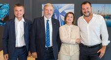 Anche Salvini a Genova per il Salone: «La nautica orgoglio del nostro Paese»