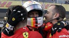 GP Azerbaigian, la Ferrari vola: Vettel in pole. Tedesco precede Hamilton, 6° Raikkonen