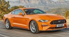 Ford svela nuova Mustang: ancora più veloce, tecnologica e inconfondibile. Migliora anche in sicurezza
