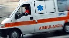 Intervento dei carabinieri per rilevare un incidente