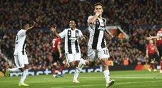 Man.United-Juventus 0-1 La Diretta Dybala sblocca la partita