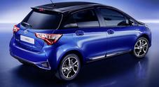 Yaris, nuovo look svelato a Ginevra e consumi tagliati del 12% per la compatta di Toyota