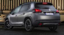 Peugeot 2008 diventa Black Matt, la serie speciale in tinta nero opaco è il top di gamma