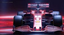 La nuova Ferrari SF1000 di Vettel e Leclerc