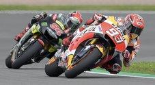 GP Germania, vince Marquez davanti a Folger, quinto Valentino