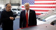 Trump: «Marchionne fra i più brillanti dopo Henry Ford. Un onore per me conoscerlo»