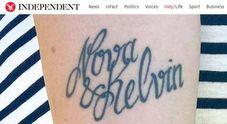 Il tatuatore sbaglia a scrivere il nome del figlio, mamma cambia i documenti all'anagrafe