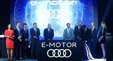 Audi dà la scossa: via alla produzione di serie dei motori elettrici in Ungheria