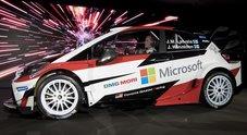 Yaris WRC, svelata in Finlandia la belva Toyota per il Mondiale Rally