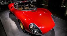 Alfa Romeo, ad Arese una mostra dedicata alla 33 Stradale: mito che compie 50 anni