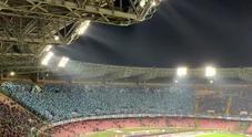 Napoli-Arsenal, la bellissima coreografia del San Paolo
