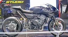 Honda CB4 Interceptor Concept, la café racer futuristica sotto i riflettori di Eicma 2017