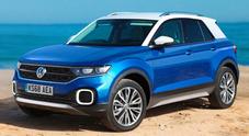 T-Cross, arriverà a fine anno l'inedito crossover compatto di Volkswagen su base Polo