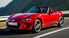 Mazda aggiorna la spider MX5 con il MY 2019. Piacere di guida al top: prova verità a quota 2000 metri
