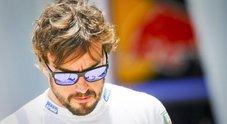 LO SCONFITTO Alonso costretto al ritiro per un problema tecnico alla McLaren: «E' stata una gara comunque positiva»