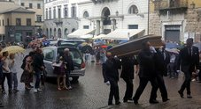 Anna Marchesini, i funerali a Orvieto