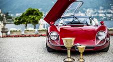 Villa d'Este, i gioielli Alfa Romeo e Ferrari protagonisti al concorso di auto d'epoca più prestigioso